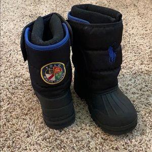 Polo Ralph Lauren boys snow boots